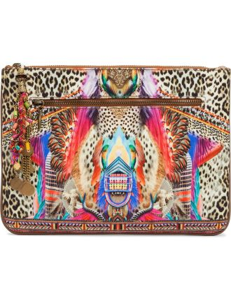 Kingdom Call Sml Canvas Clutch