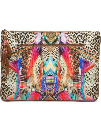 Kingdom Call Lg Canvas Clutch