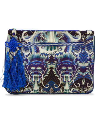 Whats Your Poison Small Canvas Clutch