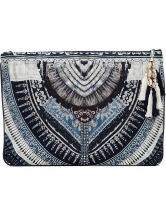 Tales Of Batik Large Canvas Clutch