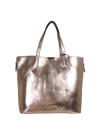 Tb ''Charity'' London Calling Tote Rose Gold