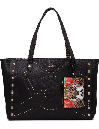 Dynasty Days Embellished Tote