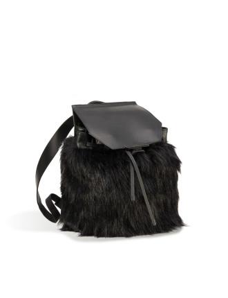 Nancy Faux Fur Backpack