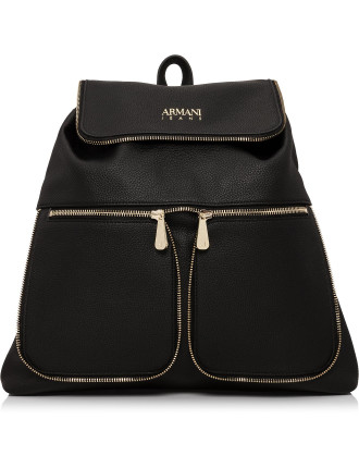 Bubble Leather With Zippers