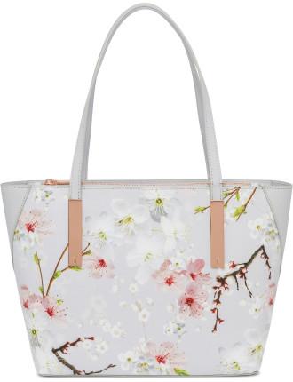 Dawnn Oriental Bloom Small Shopper