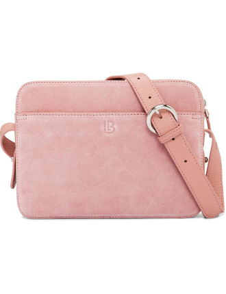 Dylan Crossbody Bag With Built-In Phone Charger