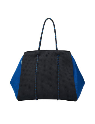 Raven Neoprene Tote Black/Blue (Incl Lining/Pockets)