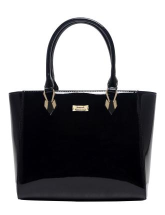 Serenade Allura Patent Leather Shoulder Bag