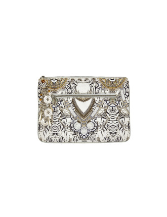 Wild Belle Small Canvas Clutch
