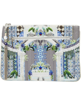 The Sweet Escape Small Canvas Clutch