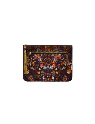 Dancing In The Dark Small Canvas Clutch