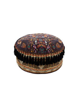 Dancing In The Dark Ottoman Cushion
