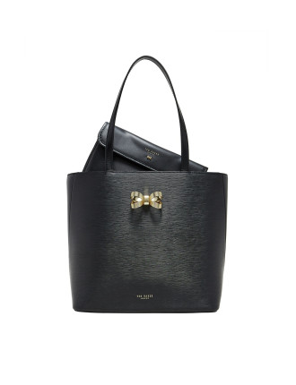 Looped Bow Shopper