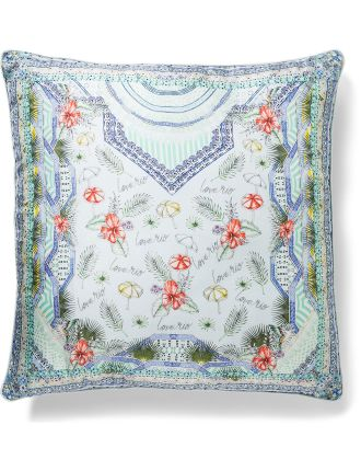 Shades Of Rio Large Square Cushion
