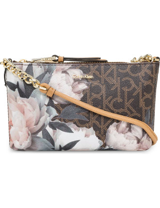 MONOGRAM SMALL CROSSBODY WITH CHAIN DETAIL