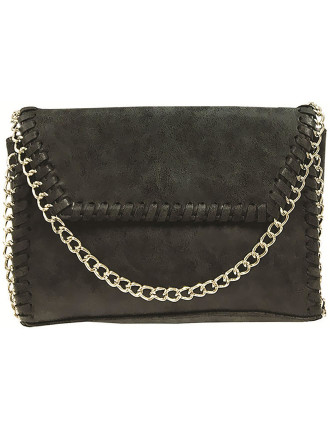 MINI FI TEXTURED CHAIN TOTE