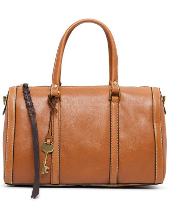 Kendall Satchel Leather Brown