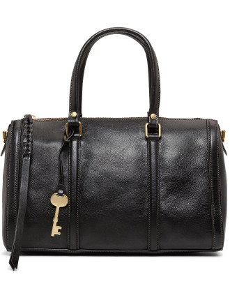 Kendall Satchel Leather Black