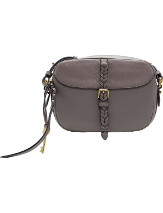 Kendall Crossbody Leather Gray