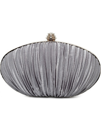 Sublime Pleated Egg Clutch