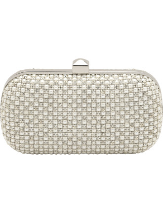 Evening Diamante And Pearl Clutch