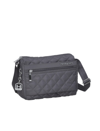 DIAMOND TOUCH CARINA TOP ZIP SHOULDER BAG