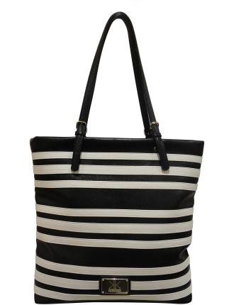 KK S14 PARALLEL LINE TOTE BAG