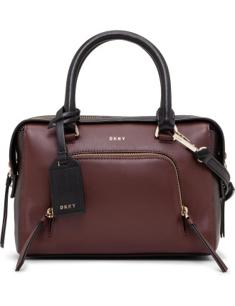 Greenwich Sml Satchel With Pocket Zip