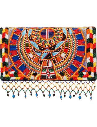 Rainbow Warrior Embellished Clutch