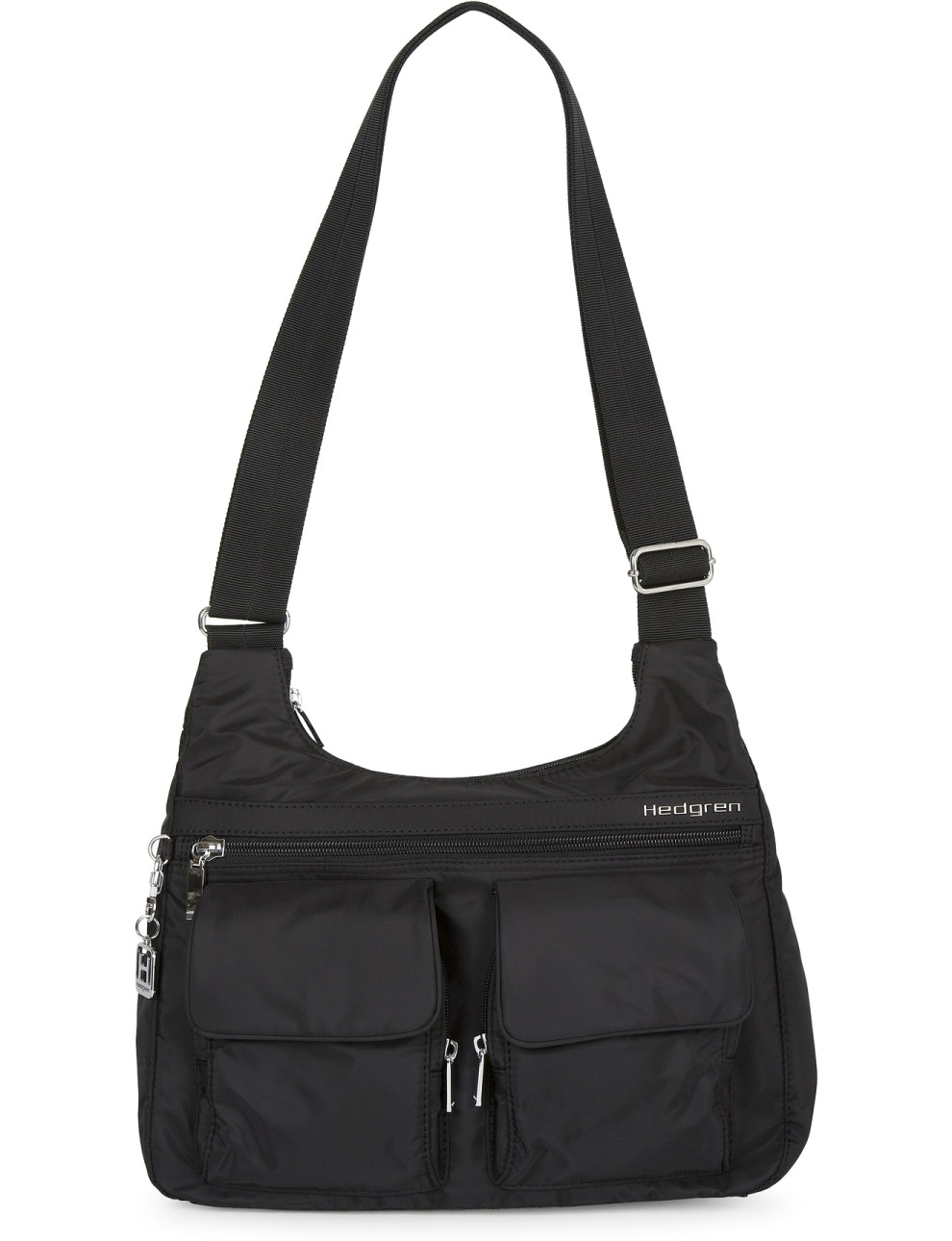 Hedgren Inner City Black Shoulder Bag 4
