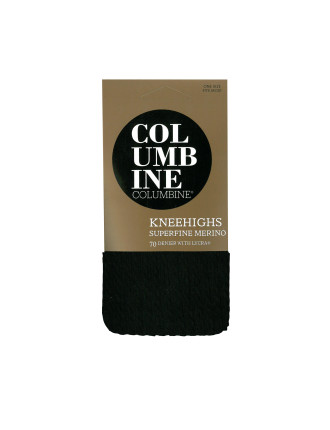Single Cable Superfine Merino Kneehigh