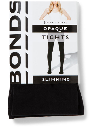 Opaque Slimming Tights