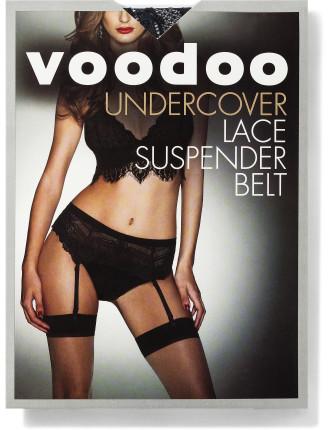 Undercover Lace Suspender Belt