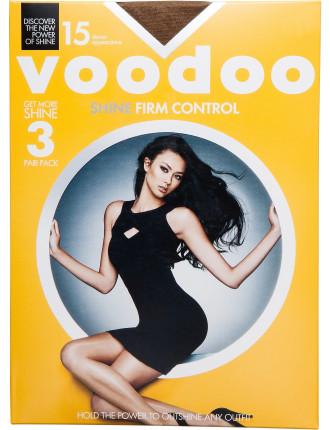 Firm Control Shine 3pr Pack