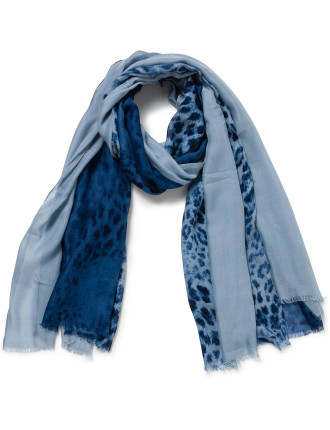 Animal Solid Borders Scarf