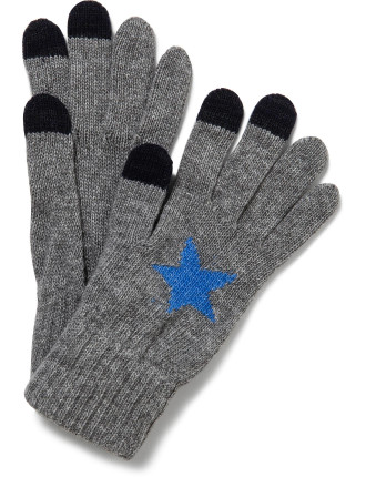 Knitted Glove With Star