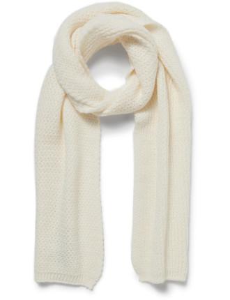 Herringbone Knit Scarf