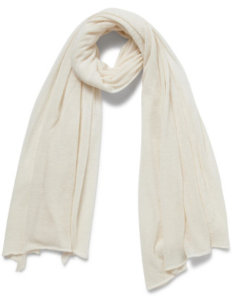 Knitted Side Plain Scarf