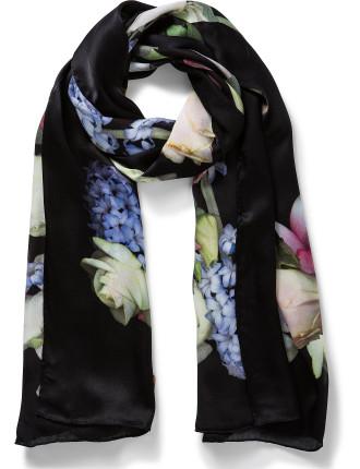 Kensington Floral Long Scarf