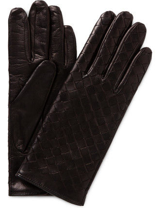 MILANA WOVEN LEATHER GLOVE