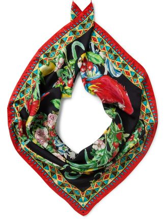 TOUCAN PLAY LARGE SQUARE SCARF