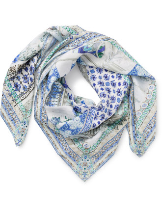 Salvador Summer Large Square Scarf