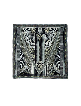 Tribal Theory Large Square Scarf
