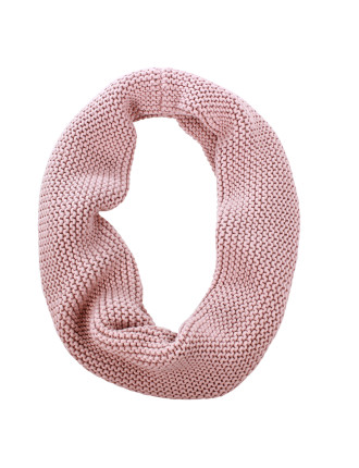 Hudson Knitted Cotton Infinity Scarf