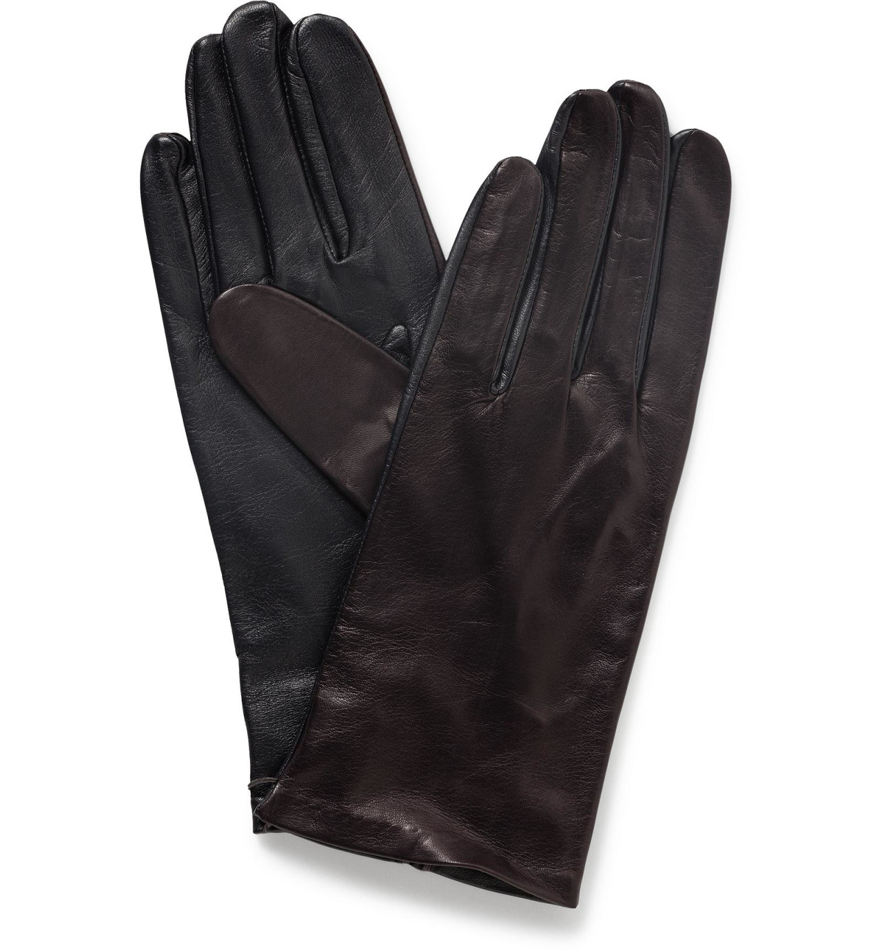 Black leather gloves brisbane - Milana Unlined Leather Glove Pt