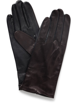 Milana Unlined Leather Glove - Pt
