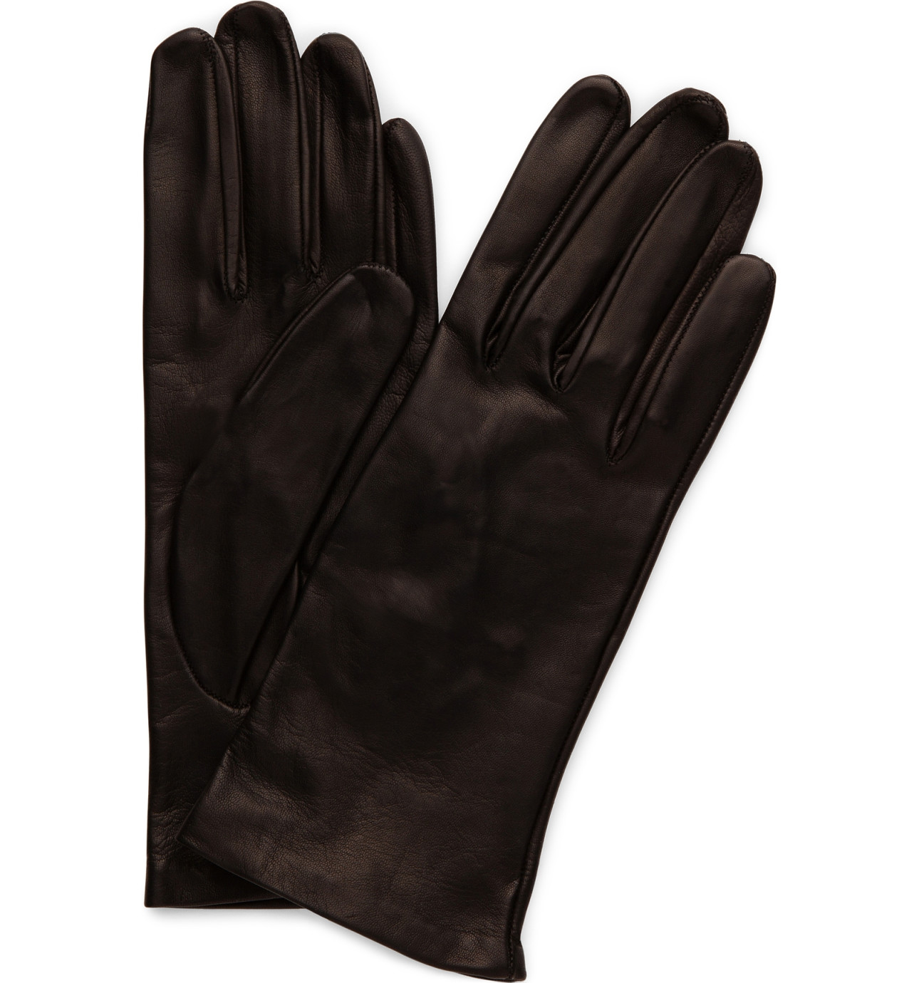 Mens leather driving gloves australia - Milana 2 Button Silk Glove