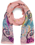 CAT PRINTED SCARF $39.95