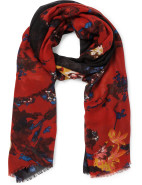 LOVE STAMP SCARF $39.95