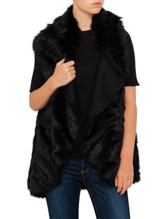 Faux Fur Side Vest